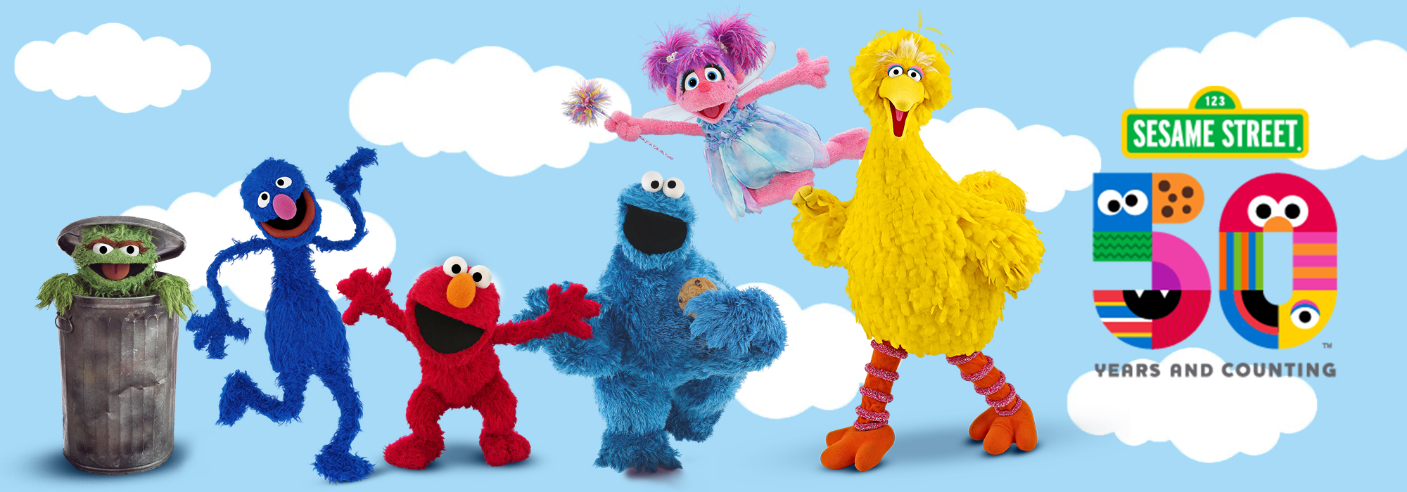 Sesame Street 50th band
