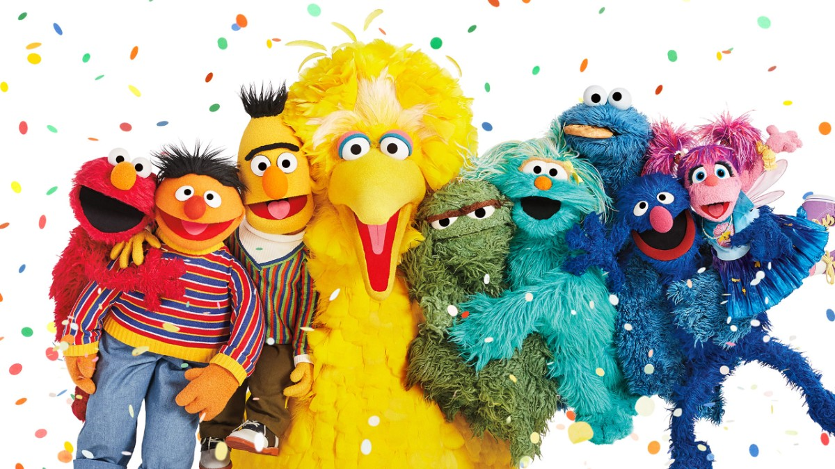 Image result for sesame street anniversary photos