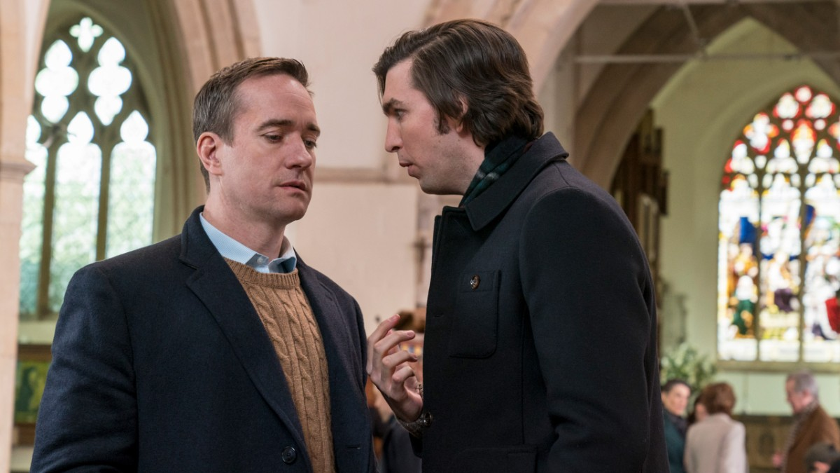 Succession Hbo Damn Signature Male White Hd Red Matthew Macfadyen And Nicholas Braun Arent Quite Roys