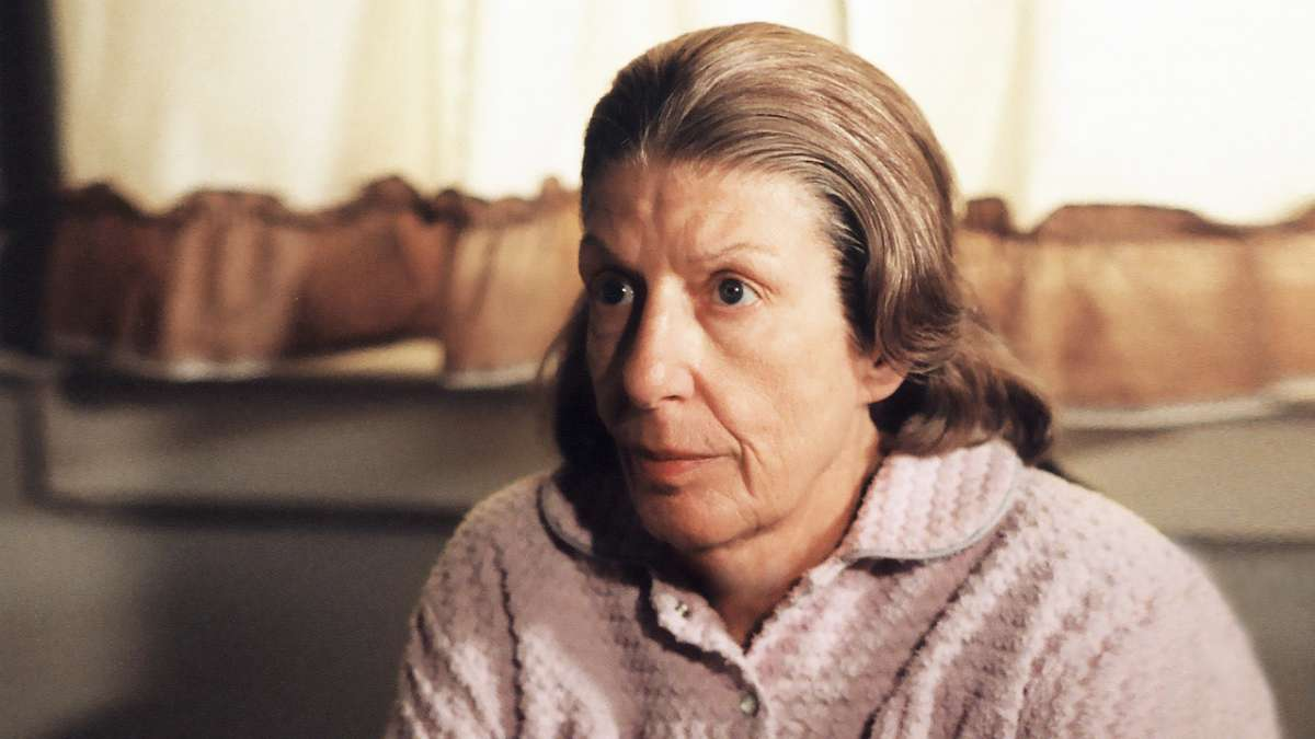 Livia Soprano talking on phone