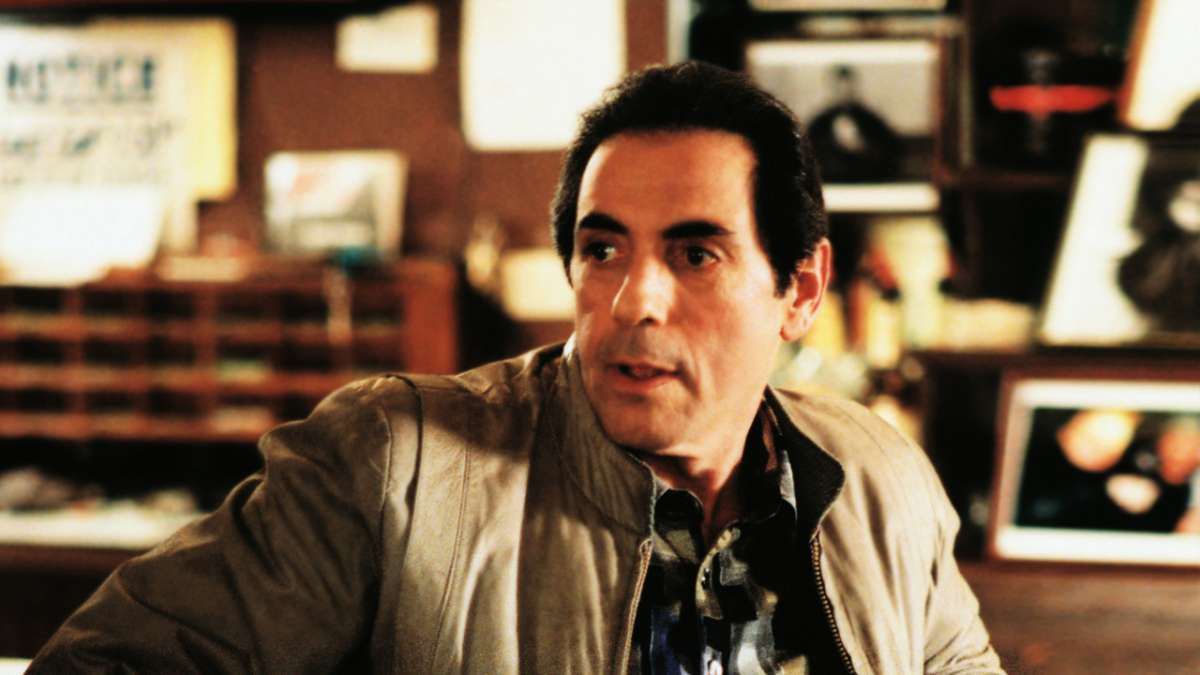 Richie Aprile looking over shoulder