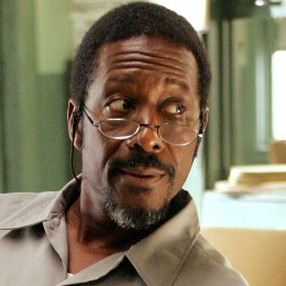 Lester Freamon stares