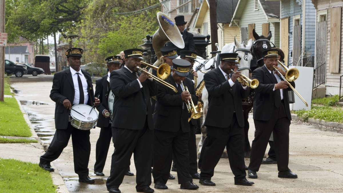 Treme funeral band