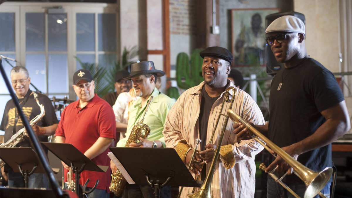 Antoine Batiste and band