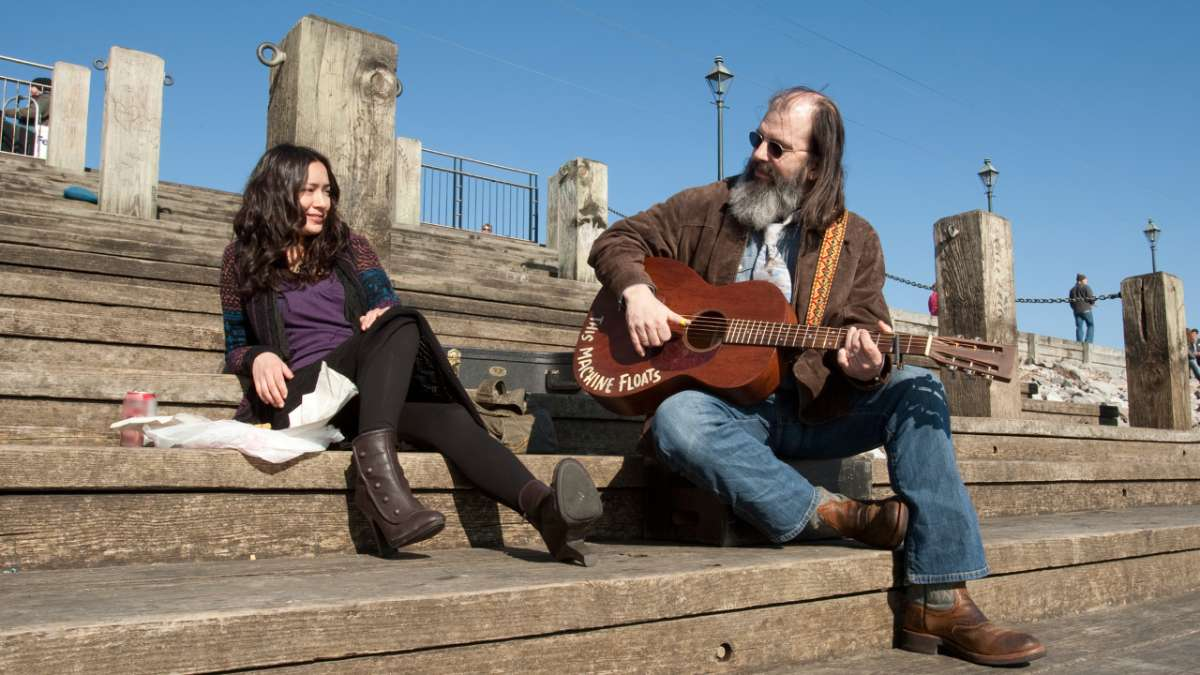 Annie with Steve Earle