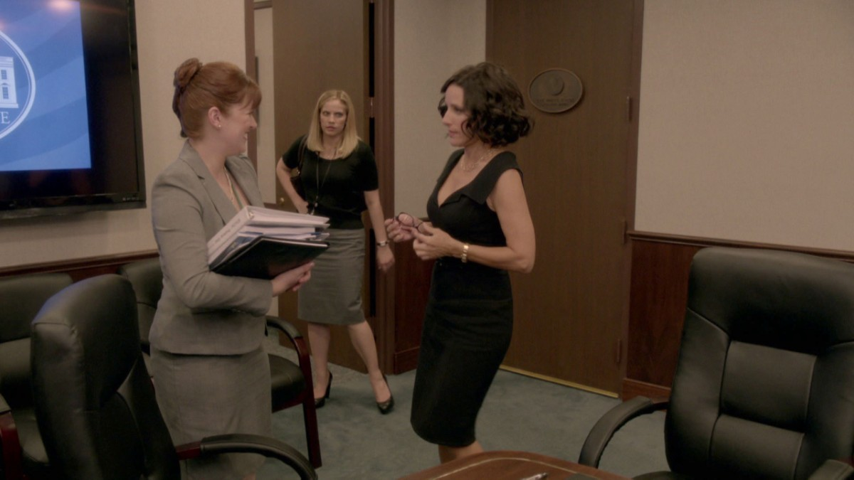Ep. 2 deleted scene office politics