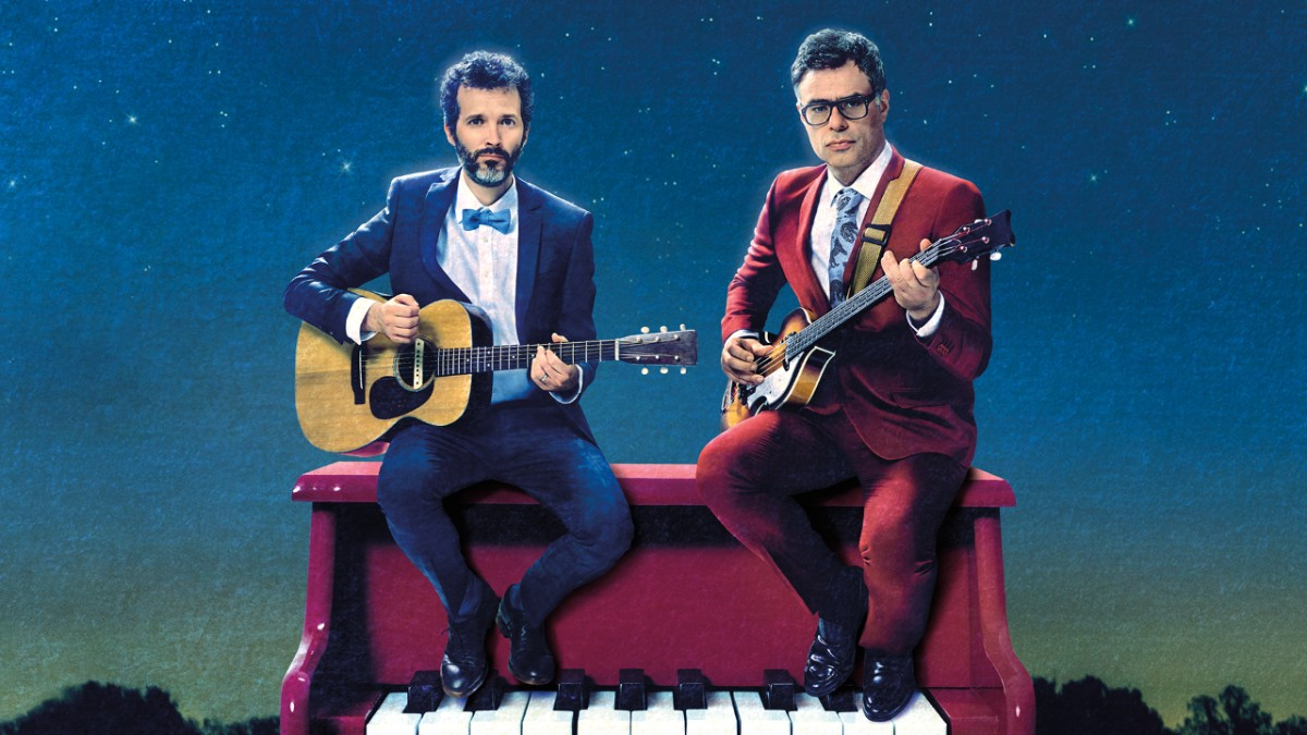 flight of the conchords key art