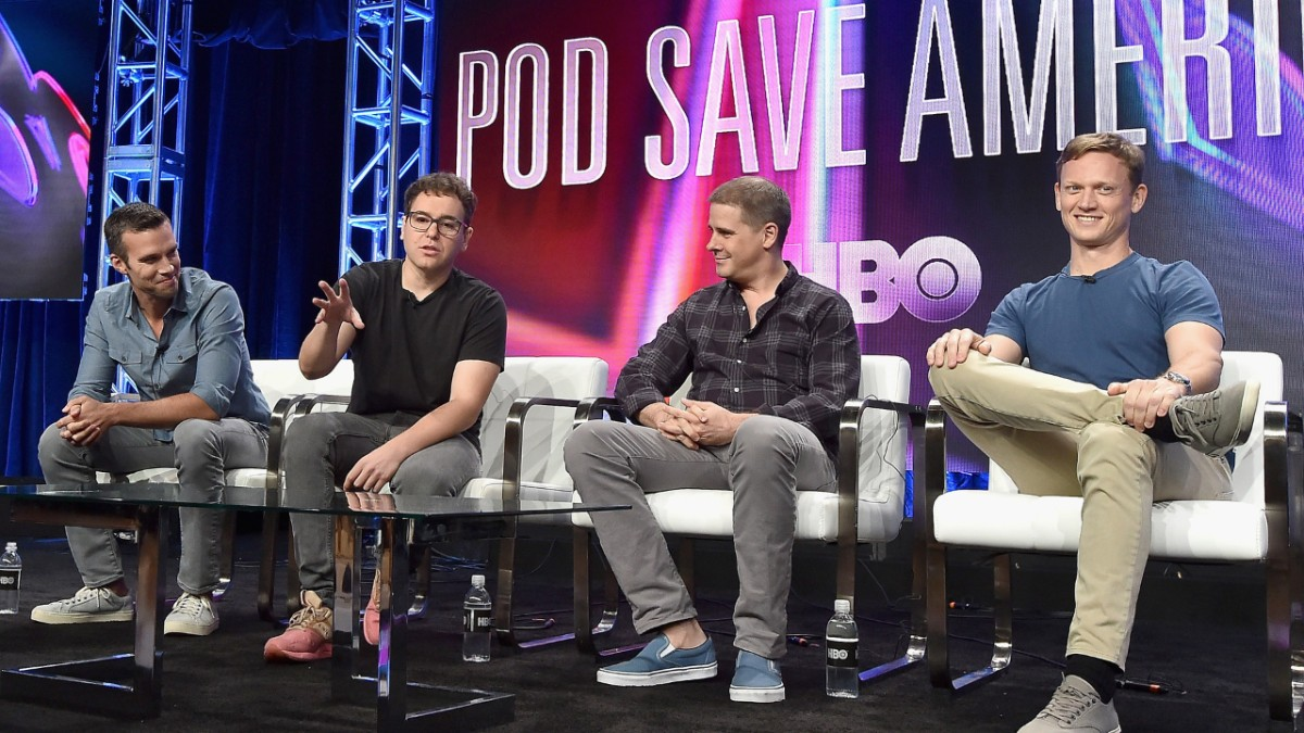 hbo announces pod save america podcast specials | hbo